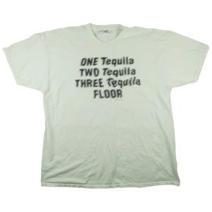 Other - Vintage 90s One Tequila Two Tequila T Shirt XXL